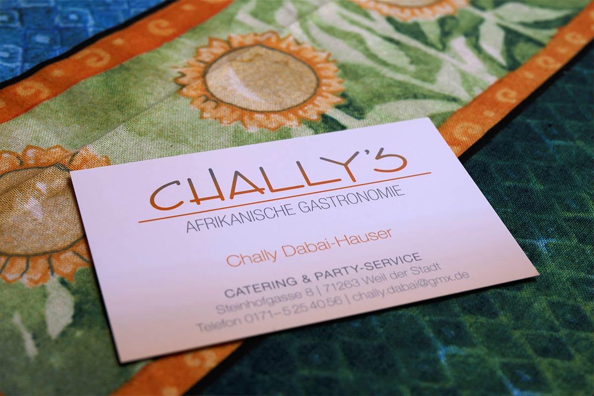 Chally\'s afrikanische Gastronomie